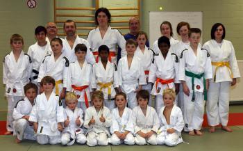 Ilse Heylen judotraining 2016